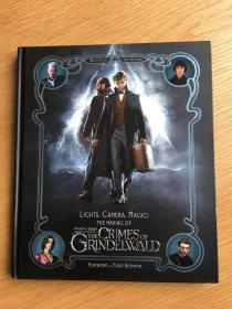 神奇动物在哪里2电影幕后制作 英版 Lights, Camera, Magic!: The Making of Fantastic Beasts: The Crimes of Grindelwald