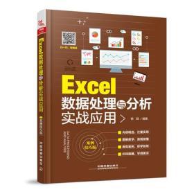 Excel数据处理与分析实战应用(案例技巧版)