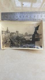 民国老照片;上海外滩全景VIEWSOFSHANGHAIBUND