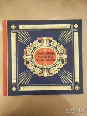 德国海军 制服 图册 图录 96张齐 图册30x28cm 图片4.5x6cm