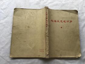 毛泽东思想万岁【16开,内有16开毛像一张,林彪题词完整,348页】【稀缺版本】