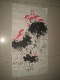 名人字画一幅:花鸟画