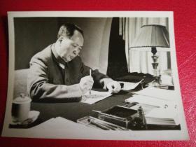 毛主席写字照片