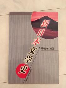 《新日本文学史》2003年1版1印,全日文内有插图多幅(日文)