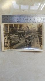 民国老照片;民国时期上海南京路的老照片