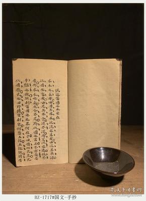 清代手抄本-国文-手抄原件-古籍善本BZ-1717