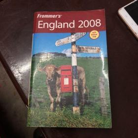 【现货】Frommers England 2008【英文版】品相如图