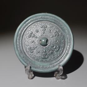 汉代六佛像镜收藏级佛教题材青铜镜包老保真