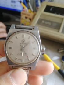 八十年代武汉牌全钢机械手表,不能走时,表直径28MM