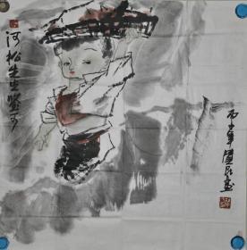 现代画家:杜觉民画作