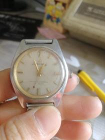 八十年代重庆山城全钢机械手表,不能走时,很有时代感,直径26MM