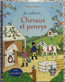 尾单平装 法语 带贴纸 Chevaux et poneys (French) 马和小马(法国)