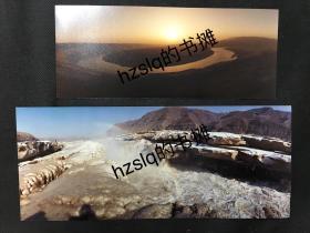 【名家摄影】摄影名家惠怀杰作品_黄河+黄河虎口瀑布2张合售