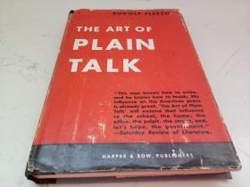 THE ART OF PLAIN TALK(英文原版)
