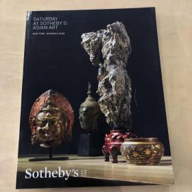 苏富比 纽约 SATURDAY AT SOTHEBYS ASIAN ART(亚洲艺术) 2016年3月(玉器 鼻烟壶 鼎等) 品佳