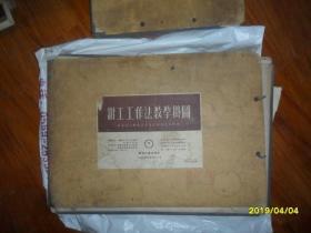 钳工工作法教学挂图(全套26张缺少2页) 带原装盒