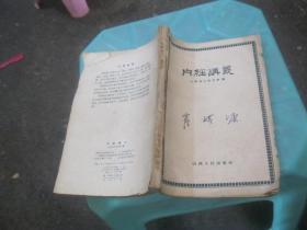 《内经讲义》 山西省中医学校编   货号4-5