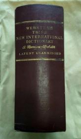 新韦氏国际英语大辞典(第三版)Websters Third New International Dictionary