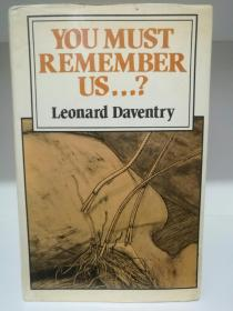 You Must Remember Us by  Leonard Daventry (科幻小说)英文原版书