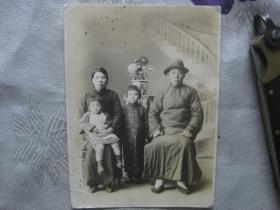 民国时期老照片(全家福)