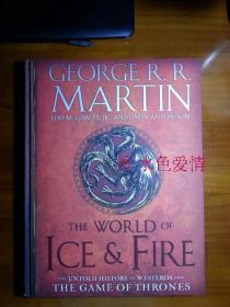 订购冰与火的世界 The World of Ice & Fire 美版 英文 原版