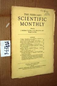 SCIENTIFIC MONTHLY 科学月刊1942年2月 多图片