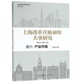 上海改革开放40年大事研究:卷六:产业升级