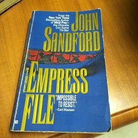 英文版:JOHN SANDFORD THE EMPRESS FILE