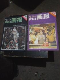 杂志:富春江画报1981年8.10(2本合售)