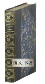 限量版,茶花女,大仲马,1935年巴黎年出版, 皮面精装24开322页