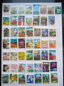 外国邮票·日本信销邮票·地方邮票250种不同(日本地方47都道府约1994-2008年之间正式发行地方邮票,图片实拍,所见即所得)
