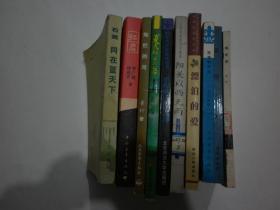 """文学类图书10册:《红岩》《世纪病:""""垮掉的一代""""小说选粹》《夜海漂流记》、《晨昏集》、《刘墉散文作品集-漂泊的爱》《阳关以西无雨》《晨曦》《同在蓝天下》《鲁钊短小说选:灿烂的河》《夏天以后的以后》【合售、注意详细描述】"""