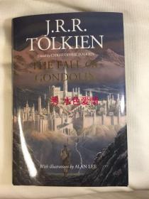 一印托尔金贡多林的陷落冈多林的陷落 美版 The Fall of Gondolin