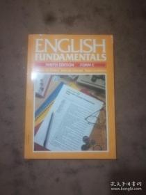 ENGLISH FUNDAMENTALS(英语基础)