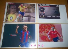 足球明星照(卡片11张)