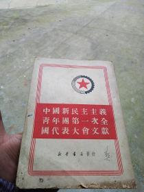 中国新民主主义青年团第一次全国代表大会文献