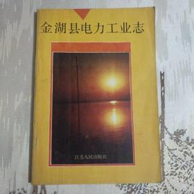 金湖县电力工业志