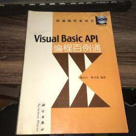Visual Basic API编程百例通——精通编程系列书