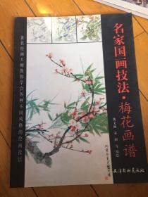 名家国画技法  梅花画谱