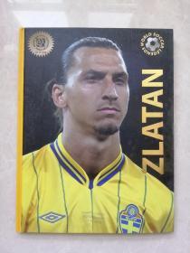 英文原版 World Soccer Legends: Players: Zlatan足球运动明星 16开精装