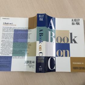 英文原版 A Book on C: Programming in C (4th Edition)前几页少许下划线