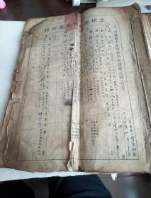 1951年山东省胶县后屯村土地房产所有证存根   300余份