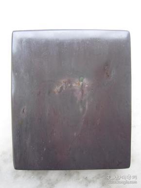 端硯--老巖麻子坑平板硯123