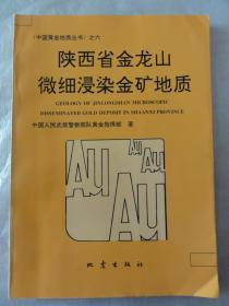 陕西省金龙山微细浸染金矿地质(中国黄金地质丛书之六)