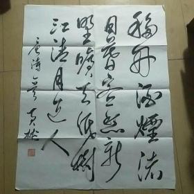 湖南省书法家协会顾问国家机关副主席黄彬书法