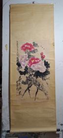 中国美协会员、安徽美协理事、颍州区美协副主席张小村国画《春色满园》,安徽著名画家张行素之子。