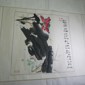 陕西著名画家王森材国画作品