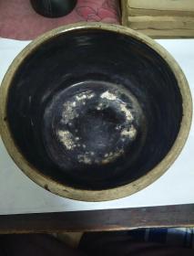 黑釉小陶盆