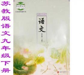 2019九年级课本下册语文 苏教版