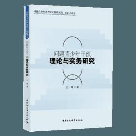 问题青少年教育矫正管理丛书,问题青少年干预理论与实务研究